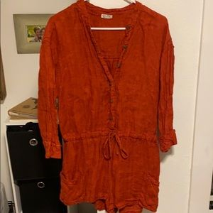 Women's free people romper size small